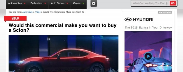 "Autoblog.com ""Sounds Off"" for Scion"