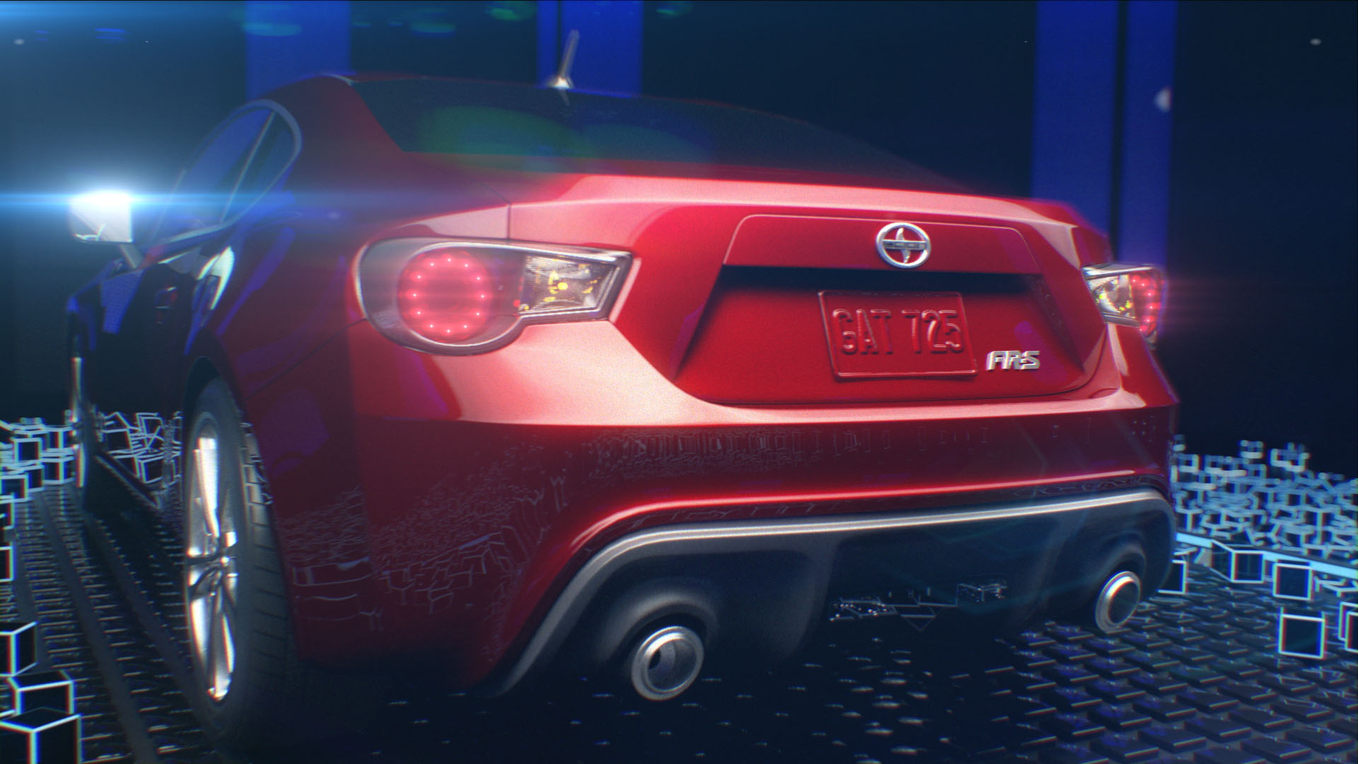 Marcus creates new spot for Scion FRS
